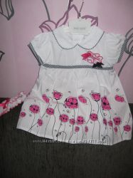 Платье Baby Rose с повязкой