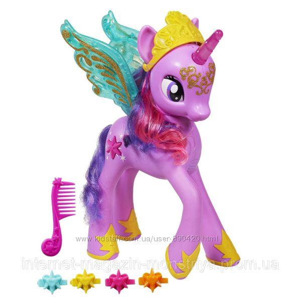 принцесса Twilight Sparkle оригинал интерактивная 35см