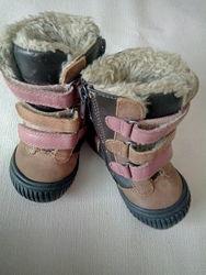 теплые ботиночки для крохи