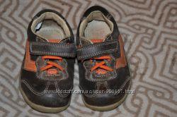 кроссовки мальчику 12. 9 см стелька Clarks 4G 20M кожа шир нога