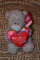 новый мишка Teddy Me to you Carte blanche оригинал 22 см отл подарок