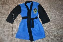 флисовый халат мальчику на 3-4 года Англия в идеале рост 98-104 см