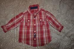 рубашка мальчику Carter&acutes США 18 мес рост 86 см отл сост