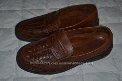 мужские кожанные туфли ортопеды Clarks 26 см 40 размер Англия в идеале