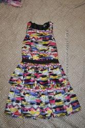 красивое платье M&S девочке 13-14 лет рост 158-162 сост нового Англия