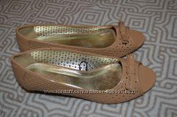 новые женские туфли босоножки M&Co Англия 25 см 38 размер