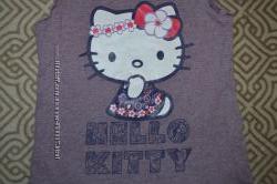 футболка девочке Mothercare на 5-6 лет рост 110-116 в идеале