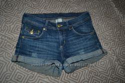 женские джинсовые шорты Denim размер XS-S