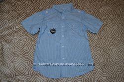 Новая рубашка мальчику George 5-6 лет Англия хлопок рост 110-116