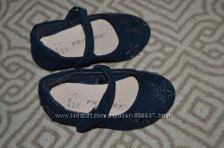 Новые туфли балетки Primark 11. 5 см 18-19 размер Англия