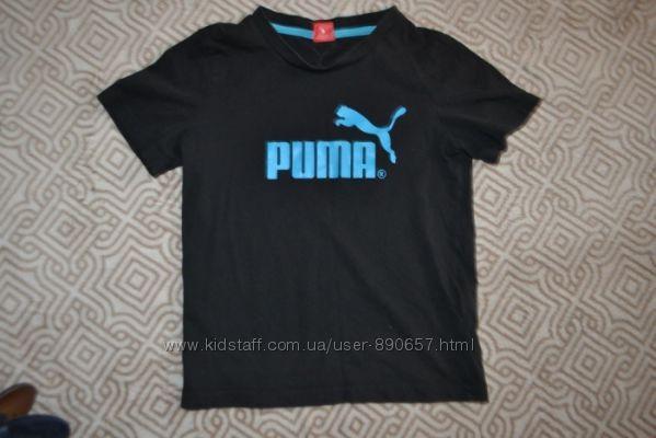 Футболка мальчику Puma оригинал рост 140