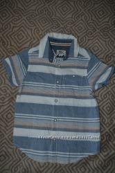 новая рубашка Primark Rebel на 4-5 лет рост 104-110 см Англия