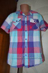 стильная рубашка Cherokee США на 9-10 лет рост 134-140 хлопок