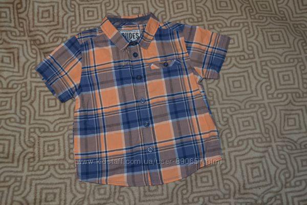 новая рубашка Matalan 3 года рост 98 Англия