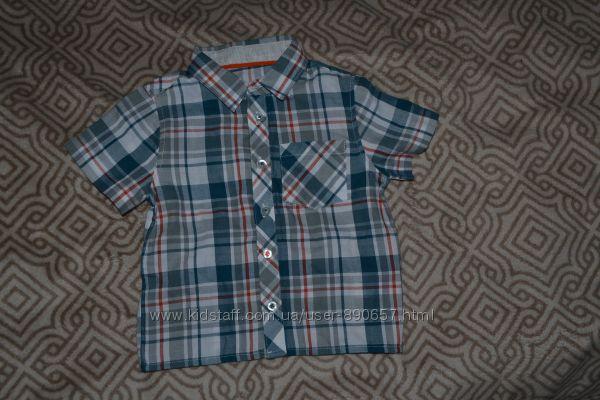 новая рубашка мальчику Matalan рост 86 Англия