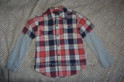 Рубашка Carter&acutes на 5 лет рост 110 США