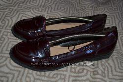 женские туфли лак F&F 27 см 42 размер Англия