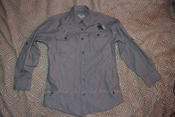 стильная рубашка мальчику Matalan 11 лет рост 146 Англия