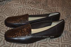 новые женские туфли Jane Shilton кожа 25. 5 см 39 размер оригинал Англия