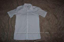 новая белая рубашка новая рубашка M&S на 12-13 лет рост 152-158 Англия