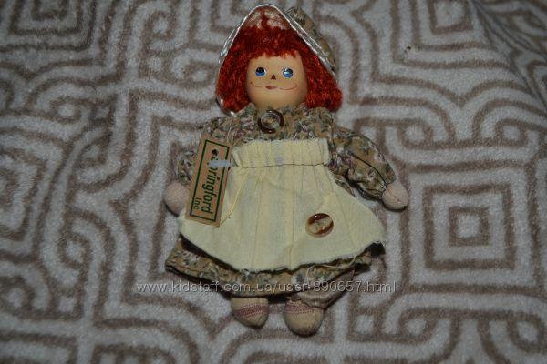 новая фарфоровая тряпичная кукла Springford США