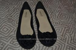 Новые туфли балетки 23. 2 см 36. 5 стелька Англия