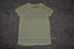 Новая желтая футболка YD Primark на 11 лет рост 146 Англия