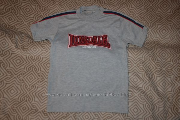 новая футболка Lonsdale London 12 лет рост 152 Англия