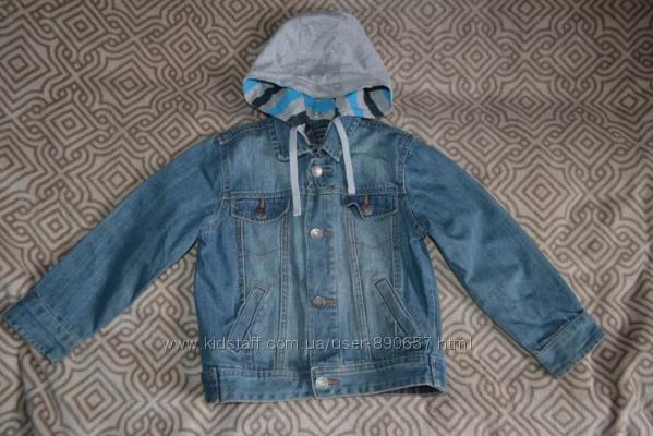 Джинсовый пиджак худи Palomino рост 104 на 4 года