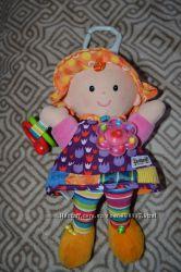 Игрушка подвеска шуршалка погремушка кукла lamaze англия