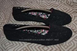 Новые чёрные туфли балетки Atmosphere 26 cм 40 размер