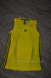 новая термо футболка майка Adidas adizero 14-16 лет рост 164-172