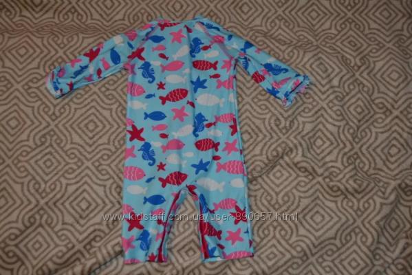 Солнцезащитный купальный костюм девочке John Lewis 18 мес рост 86