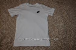 Белая футболка Nike 10 лет рост 140 оригинал