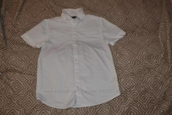 Белая рубашка Primark 11-12 лет рост 146-152 Англия