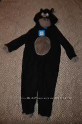 Флисоая пижама костюм обезьяны Primark 3 года рост 98 Англия