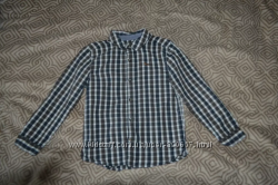 Рубашка F&F 8-9 лет рост 128-134 Англия