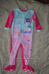 Флисовая пижама Peppa pig Mini club 3 года рост 98 Англия