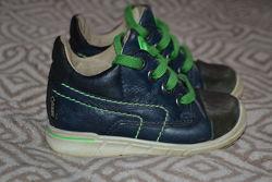 ботинки Ecco 13. 5 см стелька 21 размер оригинал кожа