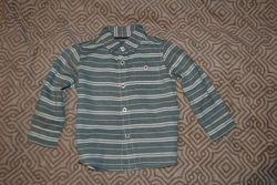 Новая рубашка Nutmeg рост 92 на 2 года Англия