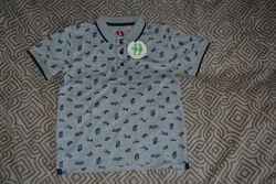 Новая футболка поло Bhs 7 лет рост 122 Англия
