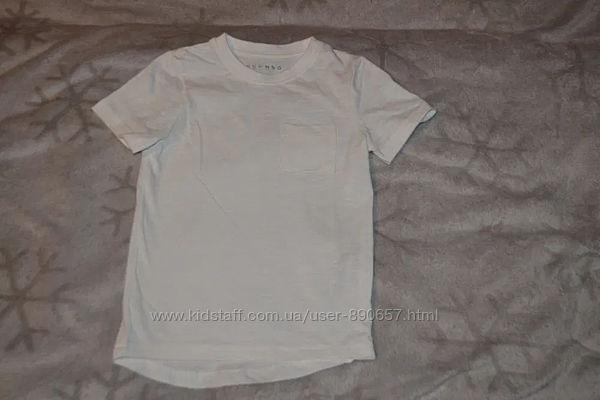 Новая белая футболка Nutmeg рост 98-104 Англия