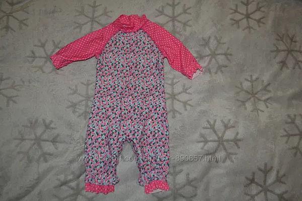 Солнцезащитный костюм купальник Mothercare 18 мес рост 86 Англия