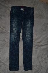 Демисезонные джинсы девочке от C&A на 9-10 лет рост 134-140 Германия