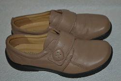 Новые туфли Hotter 23.5 см 37 размер оригинал кожа Англия