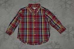 Рубашка Ralph lauren 12 мес рост 80