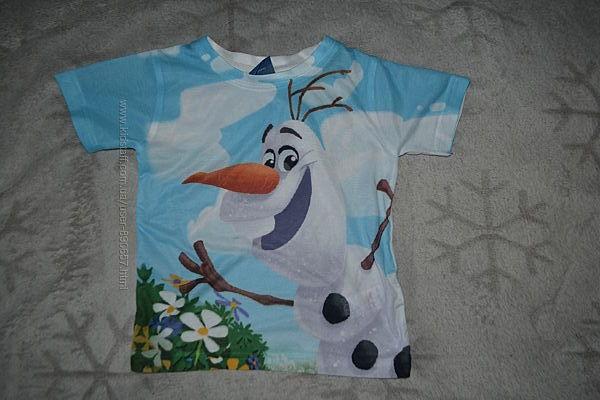 футболка Disney 24 мес рост 92