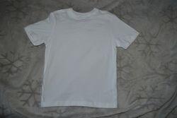 новая белая футболка George 7-8 лет рост 122-128 Англия