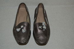женские туфли M&S кожа 24 см 37 размер Англия