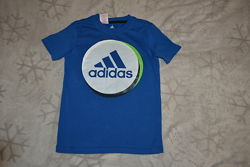 футболка Adidas оригинал 9-10 лет рост 140